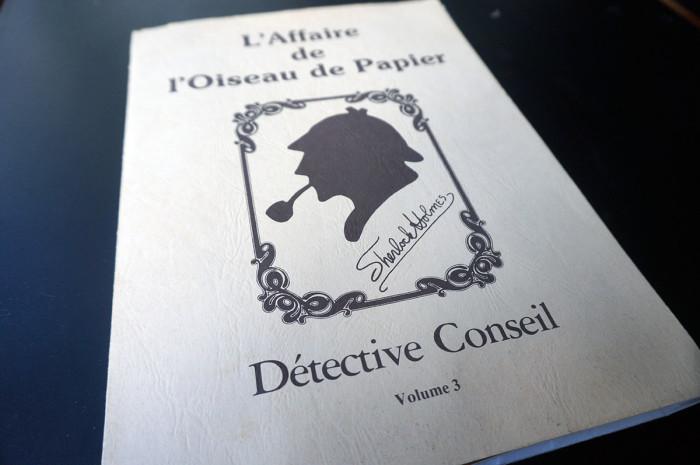 Sherlock Holmes detective conseil 1