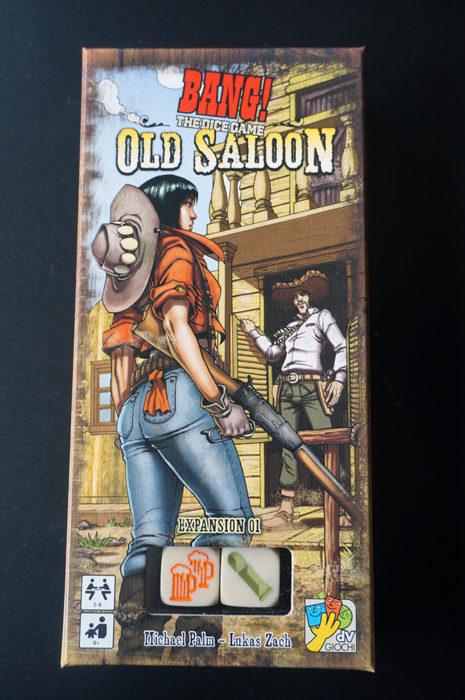 La boîte de l'extension Old Saloon