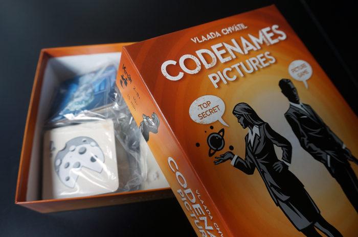 Codenames : Picture boite