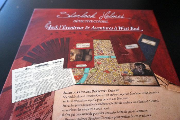 Sherlock Holmes détective conseil : Jack l'Éventreur et Aventures à West End