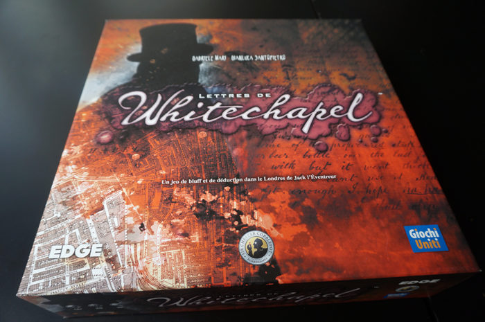 Lettres de Whitechapel : boite