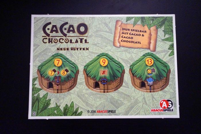 Cacao Chocolatl : tuiles