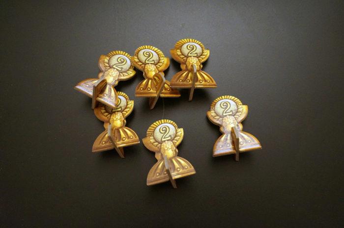 Camel Up cards : jetons