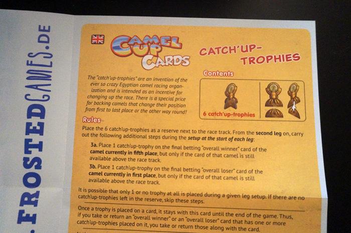 Camel Up cards : règle