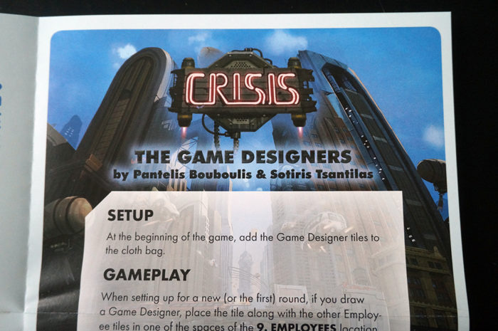 Crisis : règle