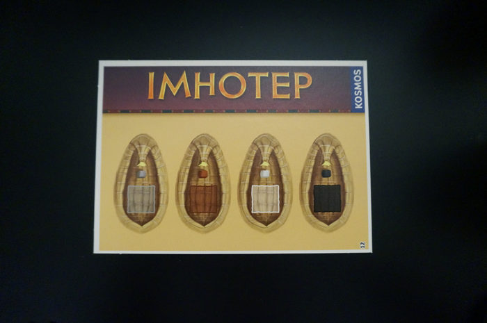 Imhotep : tuiles