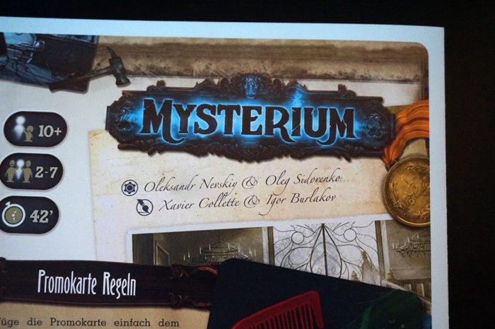 Mysterium : règle