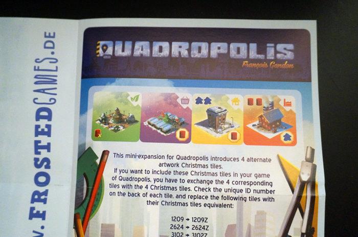 Quadropolis : règle