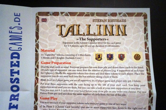 Tallinn : règle
